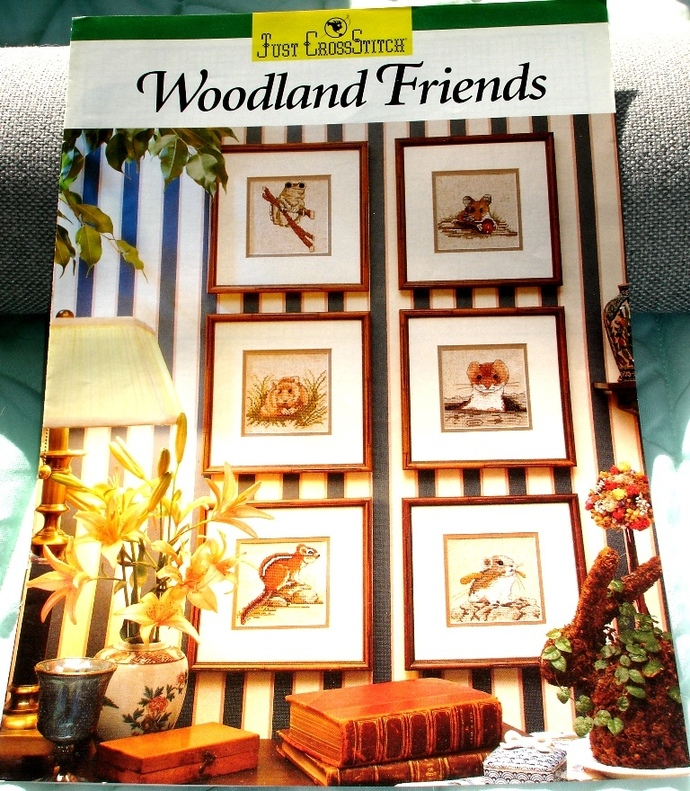 Woodland Friends Designed By Cathy Livingston For Just Cross Stitch