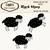Black Sheep ClipArt Set