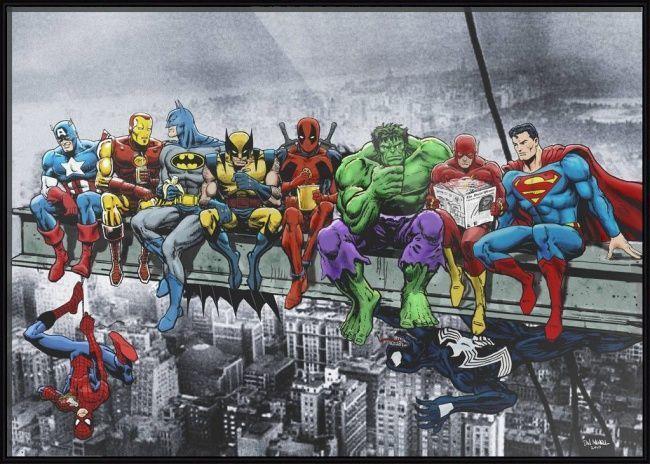 SUPER HEROS (1) XSTITCH KIT