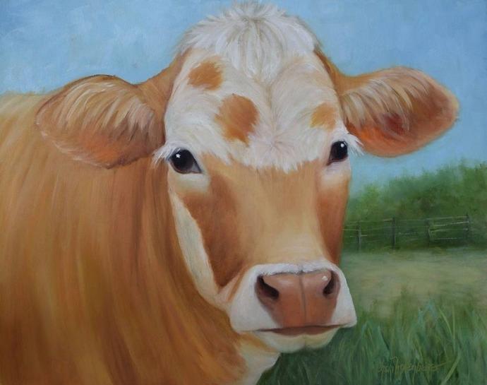 COW (5) XSTITCH KIT