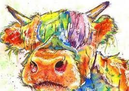 HIGHLAND COW (6) XSTITCH KIT
