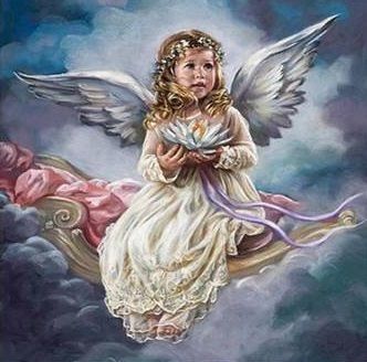 ANGELS (B) XSTITCH KIT