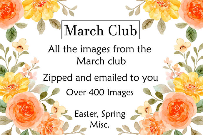 MARCH Vintage Monthly Club, All the Sends Zipped