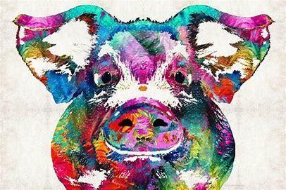 PIG (E) XSTITCH KIT