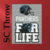 Carolina Panthers For Life SC Throw, Graph, Written Instructions with color