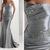 mother of the bride dresses elegant modest silver evening dresses long taffeta