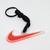 Nike Swoosh Rubber Keychain / Key Ring / Bag Charm - NEW