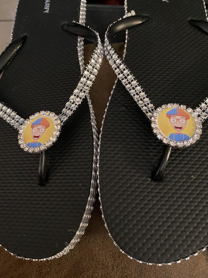 Blippi flip flops