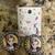 Princess dangle earrings, anime earrings, handmade earrings