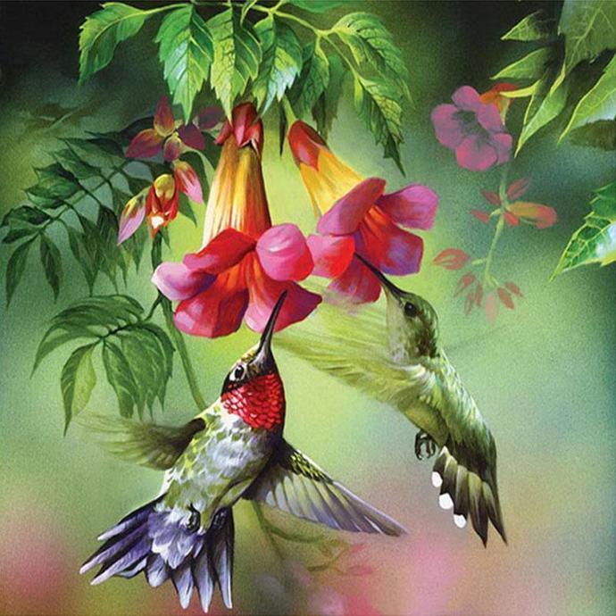 HUMMINGBIRD (B) XSTITCH PDF