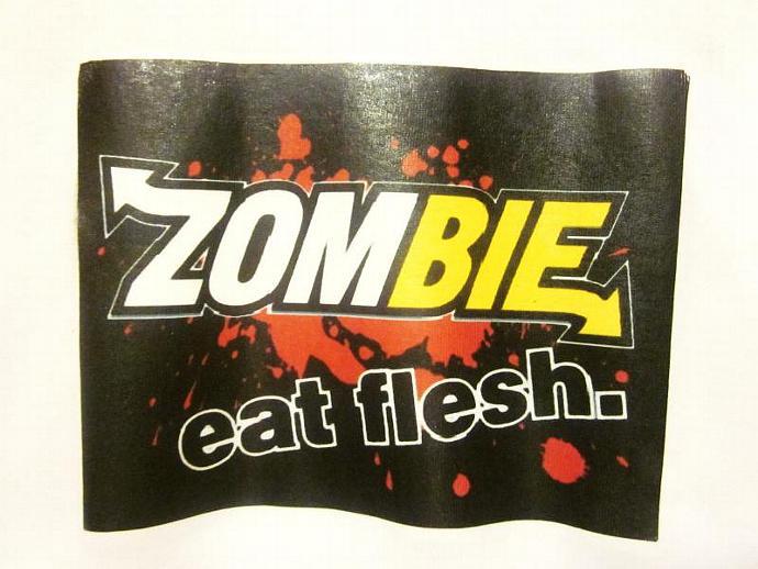 xX Eat Fresh Flesh Xx racer back zombie tank top One Size fits most