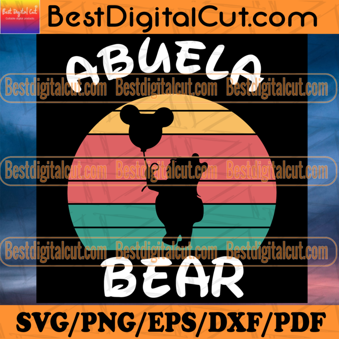 Vintage Poobear SVG Pack