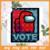 Among Us Vote Red, Trending Svg, among us svg, among us gift, Among Us Vote,