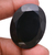 Black Spinel Faceted Oval Loose Gemstone,Black Spinel Oval,Natural Black Spinel