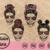 Momlife SVG,momlife,Kidlife svg, Matching Messy bun hair svg,Momster SVG,Cricut