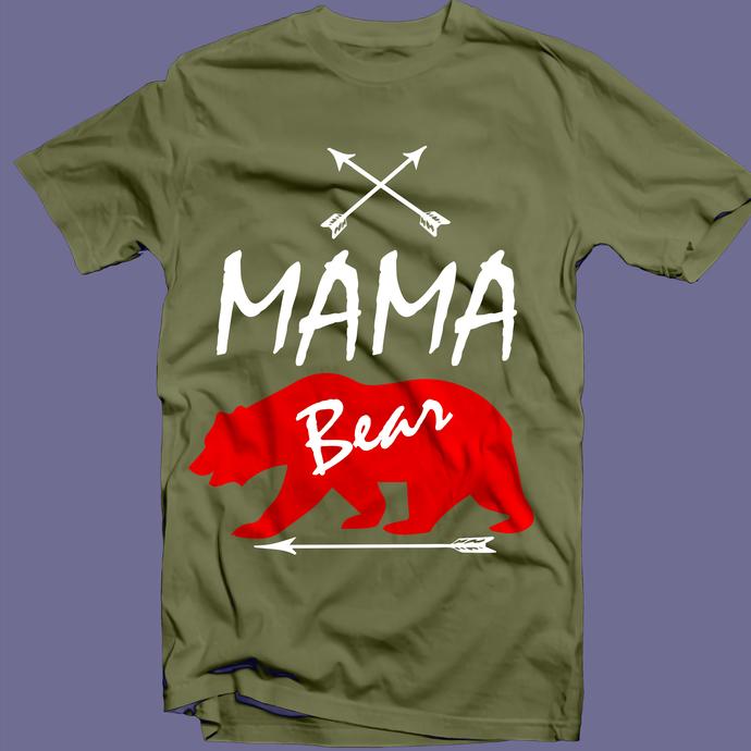 Mama Bear Svg, Mama Bear Png, Mama Bear vector, Mother Svg, Mother's Day Svg,