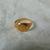 vintage gold signet ring sz.4-1/2