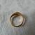 vintage gold signet ring sz.7