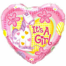 ITS A GIRL (3) XSTITCH KIT