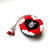 Tape Measure with White and Black Heart Sheep Small Retractable Measuring Tape
