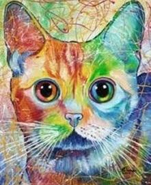 CAT (2) XSTITCH KIT