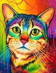 CAT (3) XSTITCH KIT