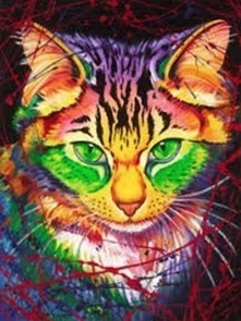 CAT (4) XSTITCH KIT