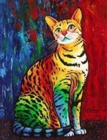 CAT (5) XSTITCH KIT