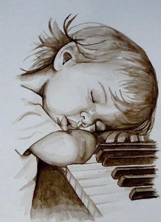 SLEEPING CHILD XSTITCH KIT