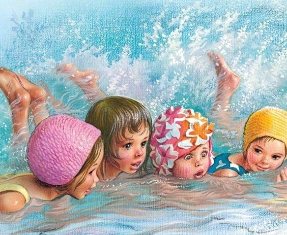 WATER BABIES XSTITCH KIT