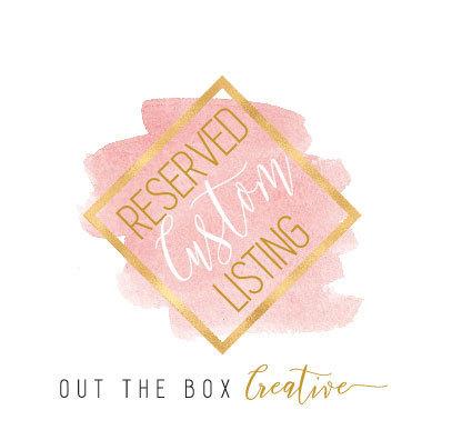 Reserved listing for Linda- Blush Laser Cut Wedding Invitation, Navy Blue pocket