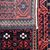 Handmade antique Afghan Baluch rug 2.6' x 5.2' (80cm x 160cm) 1900s - 1P81