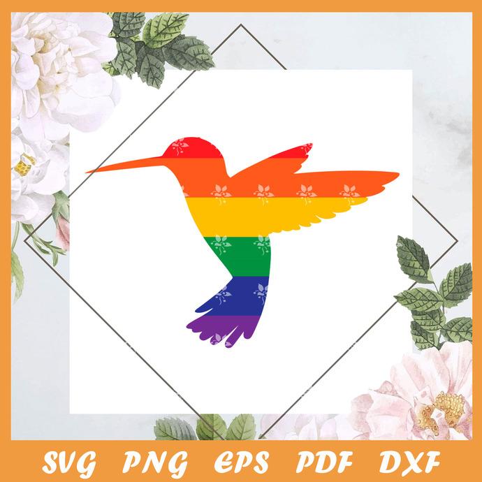 Pride Bird Svg, Trending Svg, LGBT Birds SVG, Birds SVG, LGBT SVG, Pride SVG,