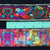 5cm Hmong Ribbon • Full Roll is AVAILABLE • Purple/Blue/White/Green/Red Parrot