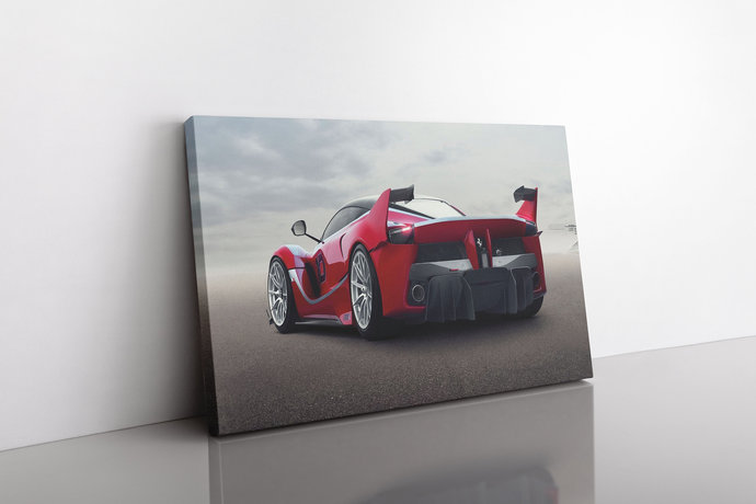 FERRARI FXX-K Canvas Ferrari FXX-K Car canvas print Ferrari Fxx-k