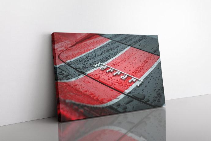 Ferrari 458 Speciale Canvas Ferrari 458 Speciale Car canvas print Ferrari 458