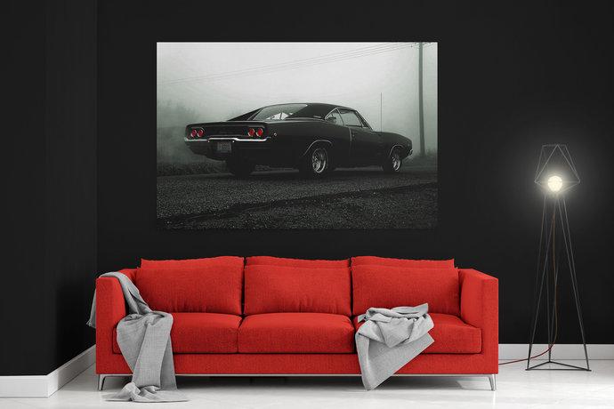 Dodge Charger RT (GEN2)  Canvas Dodge Charger RT (GEN2)  Car canvas print Dodge