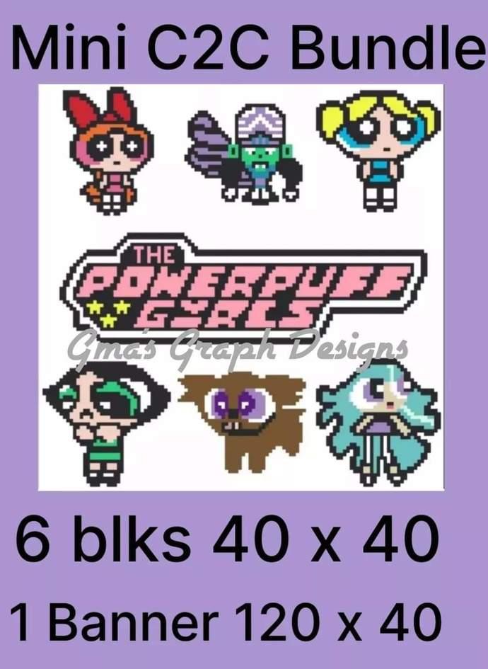 Powerpuff Girls Bundle mini C2C