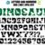 Dinosaur Font OTF, Dinosaur Font SVG, Dinosaur letters SVG, Dinosaur Alphabet