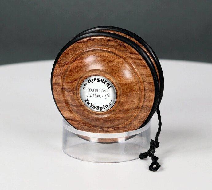 Handmade Satellite Yo-Yo...Italian Olivewood