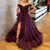 Prom Dress 2021 Off Shoulder Evening Party Dress Bead Top Gown robe  soiree V