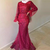 Mermaid Muslim Prom Formal Dresses with Long Sleeve 2021 High Neck Middle East