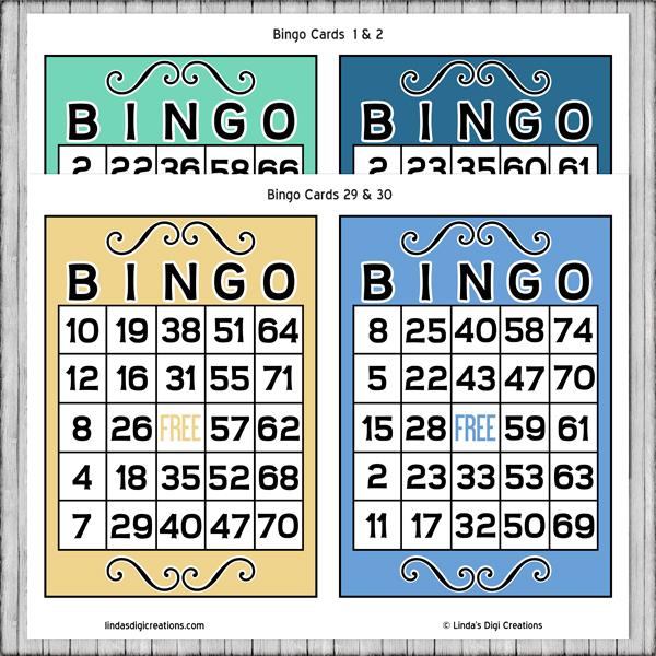 Printable Bingo Game
