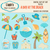 A Day At The Beach ClipArt Set