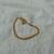 vintage Givenchy gold chain bracelet logo signed mint nos