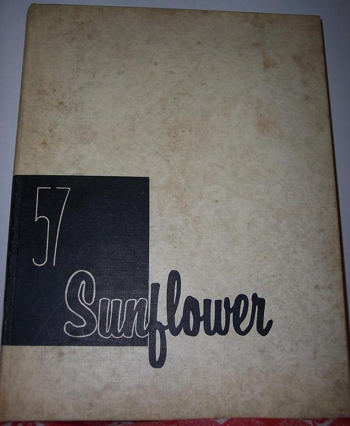 Emporia Kansas Yearbook 1957 Sunflower State Teachers College