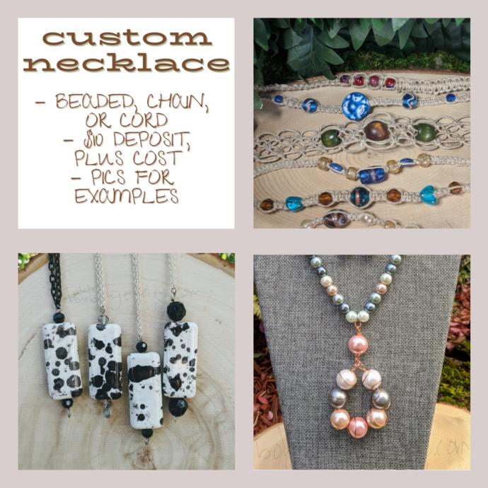 Custom Handmade Necklace