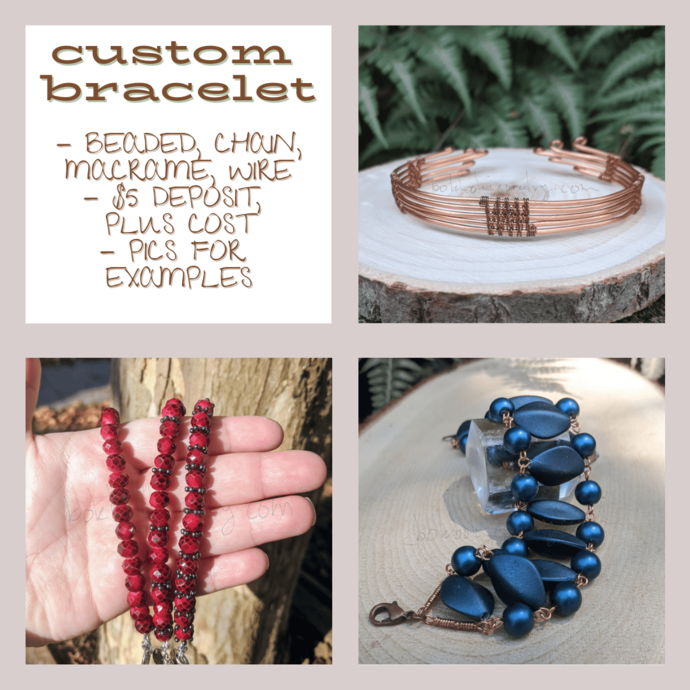 Custom Handmade Bracelet