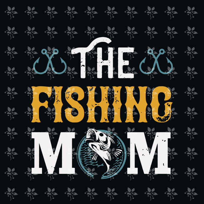 Download The Fishing Mom Svg Trending Svg Mother By Doraemonstudio On Zibbet
