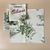 Napkins cotton 100% with Olive Print. Set of 4 napkins. Cotton Rich Linen. Gift